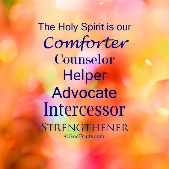 the holy spirit will guide you