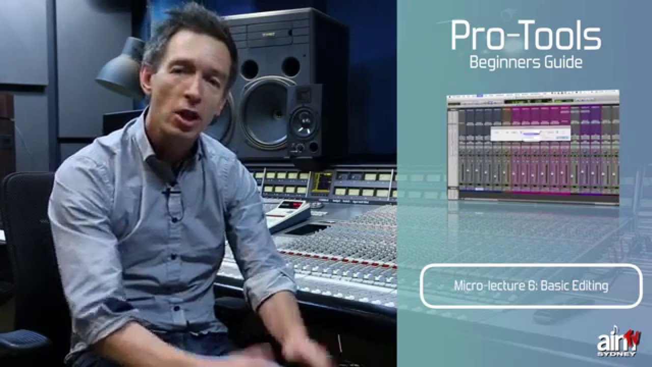 pro tools guide for beginners