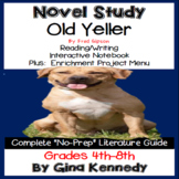 old yeller study guide pdf