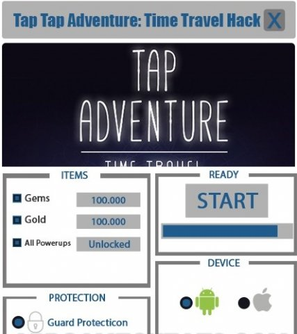 tap adventure time travel guide